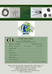 hướng dẫn vận hành máy phun cát ướt MTC